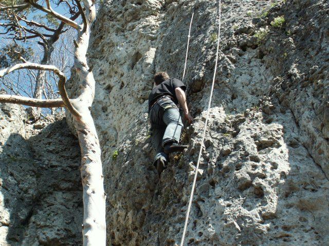 Klettersteig Höhenglücksteig : Höhenglücksteig bergsteigen