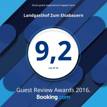 Guest Review Award 2016 - Booking.com