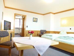 Helle und freundliche Doppelzimmer