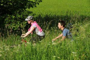 Mountainbike, Fahrrad fahren