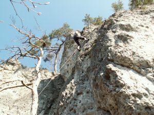 Klettern in der Frankenjura