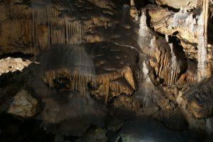 Tropfsteine in der Maximiliansgrotte