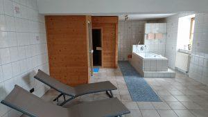 Sauna im Landgasthof Zum Elsabauern in Mittelfranken