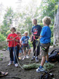 Klettern mit Kindern in der Oberpfalz