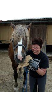 Pferdeliebe - Pferd Bubi feiert Geburtstag