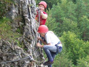 Klettern in der Hersbrucker Schweiz